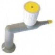 Кран для подвода газа (вакуума) для вытяж. шкафов, столов СПТ и СО