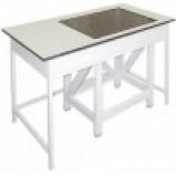 Стол весовой большой 900 СВГ-1500л-М (ламинат/гранит)