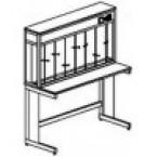 Стол титровальный 1200 СТп-М (пластик Sloplast)